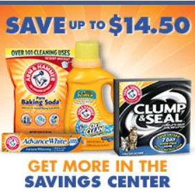 Arm Hammer Product $14.50 in Arm & Hammer Product Coupons