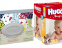 Clutch n Clean Wipes and HUGGIES