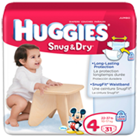 HUGGIES Snug and Dry Diapers 2 NEW Huggies Diapers Coupons Plus $3 Cash Back from Snap