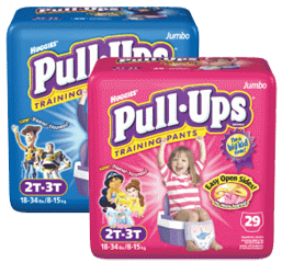 Huggies Pull Ups Training Pants $4.00 off HUGGIES Diapers and PULL UPS Pants Coupons