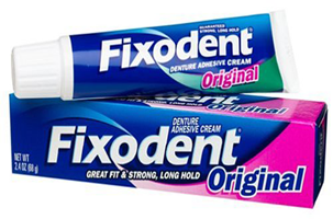 image about Fixodent Coupons Printable named $1 off Fixodent Adhesive Coupon - Hunt4Freebies
