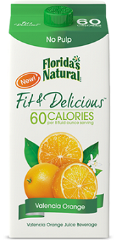 Floridas New Natural Fit Delicious Orange Juice