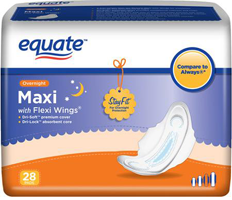 Equate-Maxi-Pad-Product