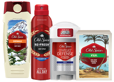 Old-Spice-Products