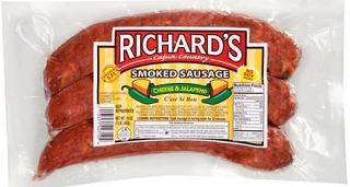 Richards Cajun Foods Premium Smoked Sausage