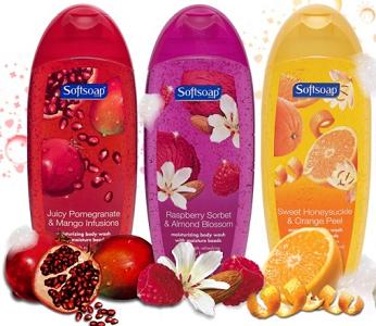 Softsoap brand Body Wash