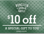 Bonefish Grill 10 off