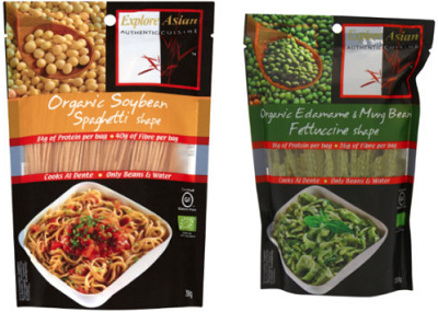 GLUTEN-FREE Pastas from Explore Asian