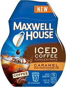 MAXWELL HOUSE Iced Coffee Concentrate