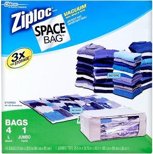 Ziploc Space Bag product