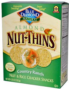 Blue Diamond Nut-Thins Boxes