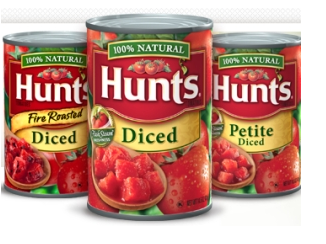 Hunts Canned Tomatoes