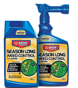 Bayer Advanced Season Long Weed Control for Lawns