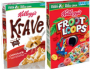 Froot Loops and Krave Cereal