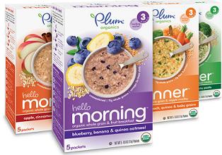 Plum Organics Hello Morning