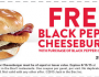 Black Pepper Cheeseburger at Jack In the Box