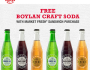 FREE Boylan Craft Soda