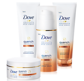 Dove Quench Absolute Hair Products