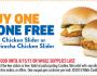 FREE Sriracha Chicken Slider at White Castle