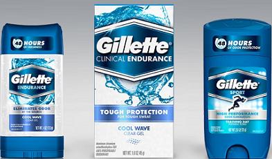 Gillette Deodorant or Antiperspirant