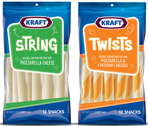 KRAFT String Cheese or Twists