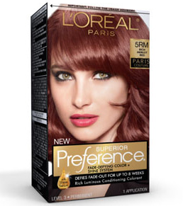 LOreal Paris Preference haircolor