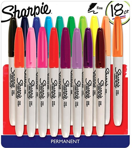 Sharpie permanent marker product