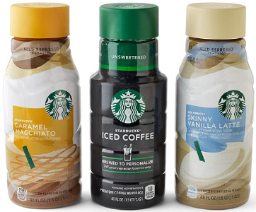 Starbucks Iced Coffee Bottles