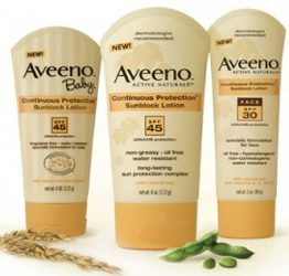 AVEENO Sun Care Product