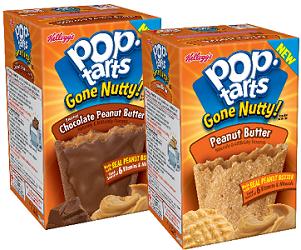 Kelloggs Pop-Tarts Gone Nutty