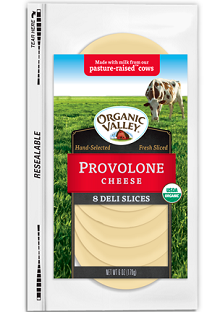 Organic Valley Sliced Cheese