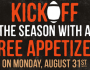 Outback Steakhouse FREE Appetizer Deal