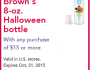 Dr Browns Halloween Bottle Deal