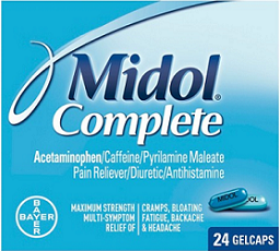 Midol Product