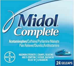 Midol Product