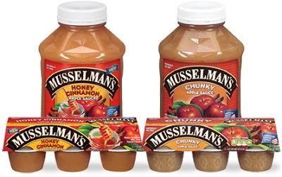 Musselmans Honey Cinnamon Apple Sauce