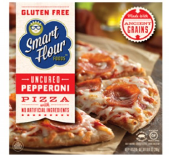 Smart Flour Foods Frozen Pizza