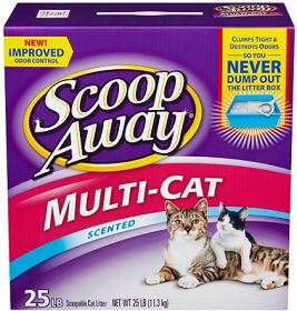 Scoop Away Cat Litter 25lb