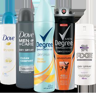 Unilever-Dry-Spray-Antiperspirant
