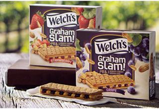 Welchs Graham Slam PBJ Sandwiches