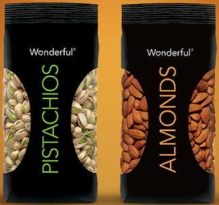 Wonderful Pistachios and Wonderful Almonds