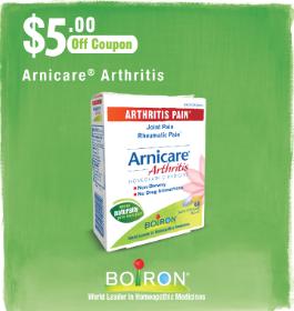 Boiron Arnicare Arthritis Coupon