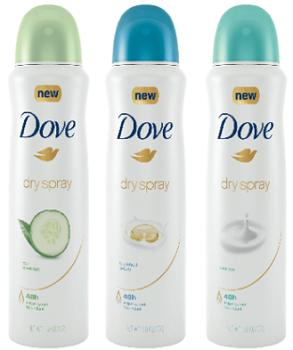 Dove Dry Spray Antiperspirant Deodorant