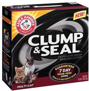 Arm Hammer Clump Seal Cat Litter