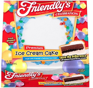 Friendlys Ice Cream Cake