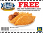 Long John Silvers Coupon NEW