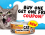 BOGO FREE Friskies Cat Food Coupon