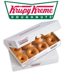 Dozen-Doughnuts-at-Krispy-Kreme