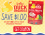 Little Duck Organics Product Coupon