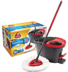 O-Cedar EasyWring Spin Mop Bucket System